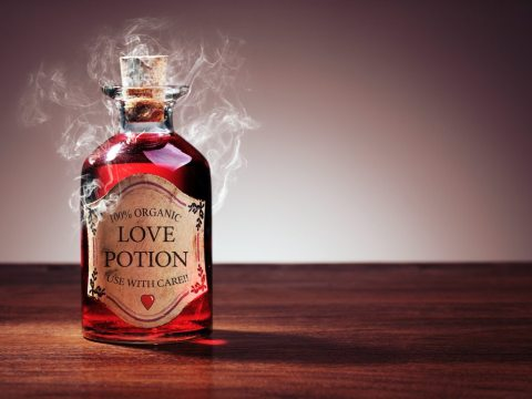 portions and love spells