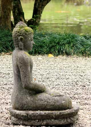 meditation statue