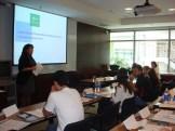 (29/08) A segunda palestrante foi Jennifer McKenzie (ENEL Green Power) que abordou as várias formas de energia e a interação deste mercado.