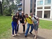 """(30/08)Durante a tarde os alunos voltam para a segunda parte da aula de """"Globalization of Business"""""""