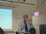 (06 jun) Os alunos tem aula sobre Inovação com o professor Roberto Felippini. Ele é professor de Management of Innovation e Desenvolvimento de Produtos do curso de Engenharia Gerencial da Universidade de Pádua e coordenador do MBA em Gestão da inovação do CUOA. A aula foi ótima. Os alunos adoraram!