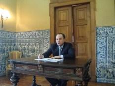 (10/10) Dr. Mário Vilalva - Embaixador do Brasil em Portugal.