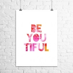 <h5>BeYOUtiful Art Print</h5>