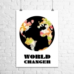 <h5>World Changer Art Print</h5>