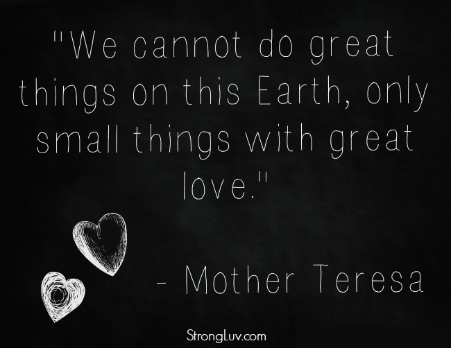 Blessing Bags For The Homeless Inspiration From Mother Teresa