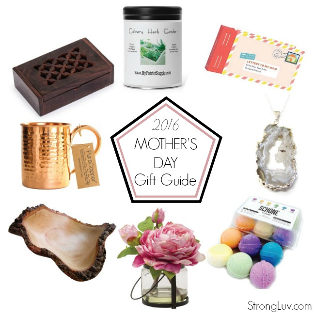 2016 mothers day gift guide