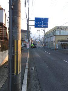 京都マラソン道路封鎖