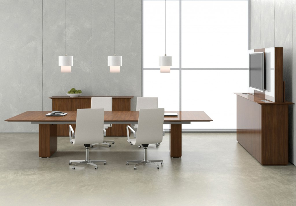 Elevare Conference Table Panel Bases
