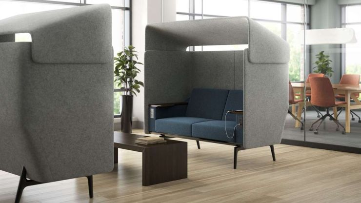 acoustic furniture meeting space