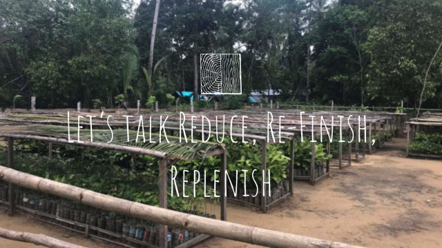 Let's Talk Reduce, Re-Finish, Replenish