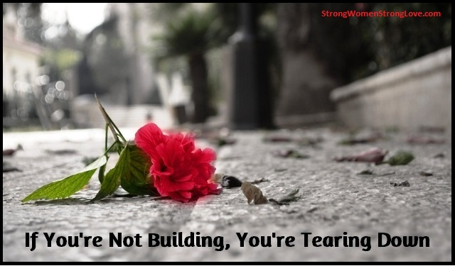 Building or Tearing Down