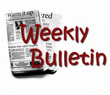 Click here for this week's bulletin