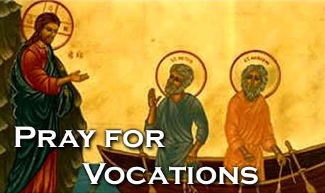 pray for vocations