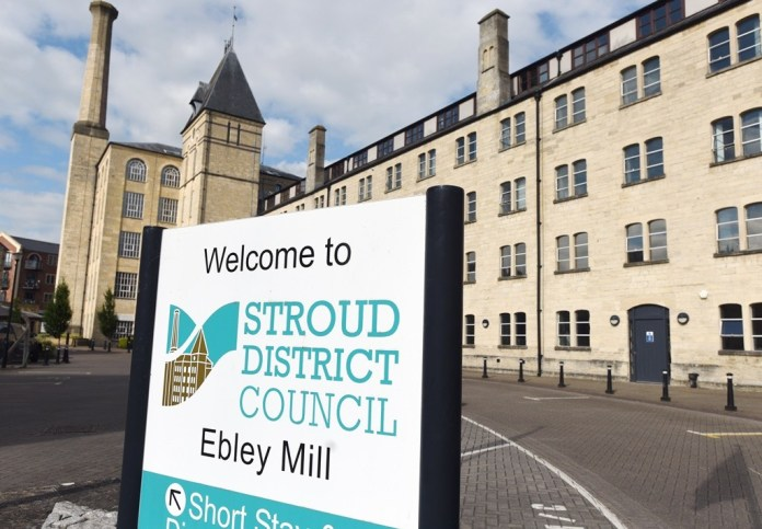 Stroud District Council top brass show support during on-going lockdown challenges