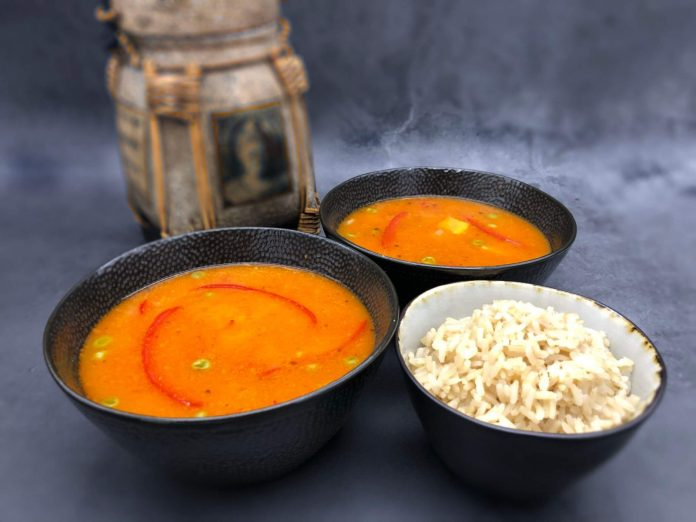 Soup of the day: Try Mandy's amazing vegan Thai coconut curry recipe