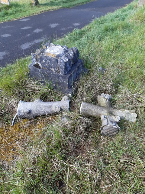 Outrage over cemetery vandalism