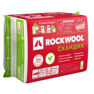 Утеплитель Rockwool Лайт Баттс Скандик 100мм, 2.88 м2