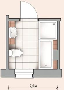 Дизайн ванной комнаты с душевой кабиной (80 фото): уголок ...