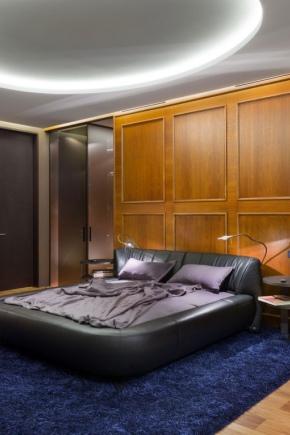угловая гардеробная в спальне фото дизайн 3