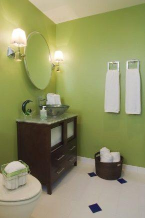 Покраска стен в ванной (47 фото): как покрасить стены в ...
