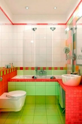 плитка в ванную комнату дизайн фото 2