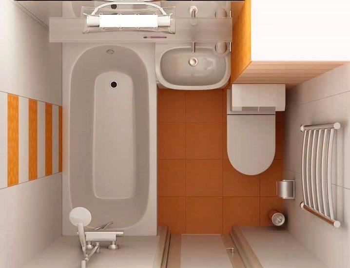 совмещенная ванна с туалетом дизайн фото 3