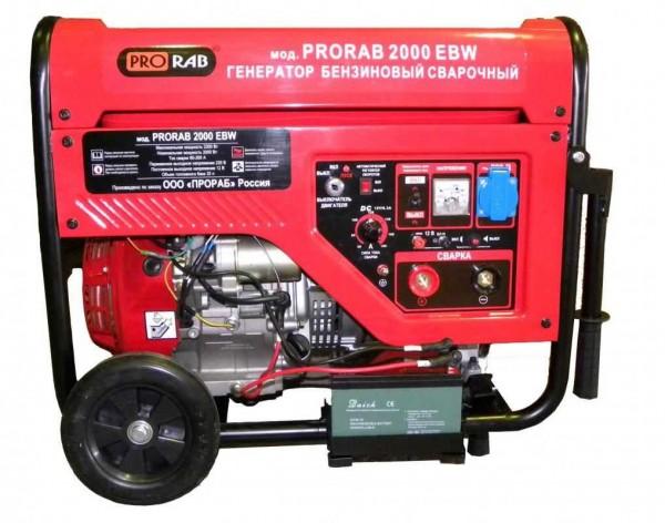 焊接发生器是柴油或汽油发电机和焊接机的组合