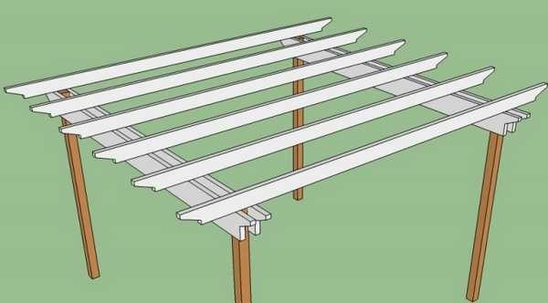 To reduce the cost of the quality of the main beams, you can use two boards