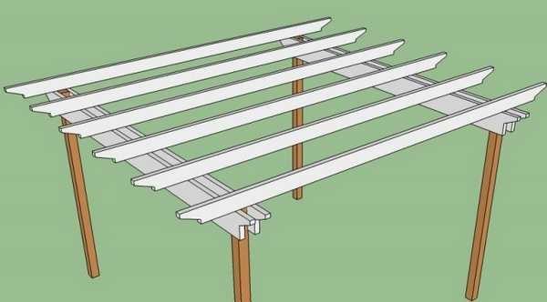 Upang mabawasan ang gastos ng kalidad ng mga pangunahing beam, maaari mong gamitin ang dalawang board