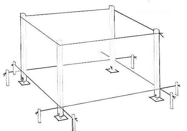 Układ strony i montaż filarów