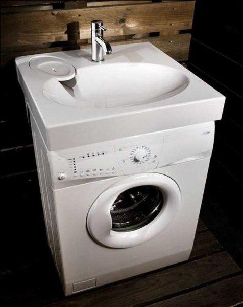 Mettre une machine à laver sous l'évier besoin d'un évier spécial