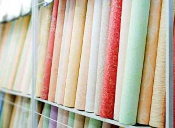 Flizelin papel de parede com revestimento de fliesline