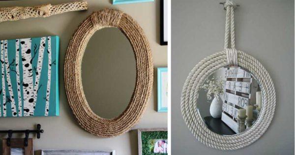 Mirror Sisustus köydestä