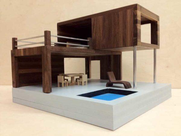 Dukkehus i moderne stil