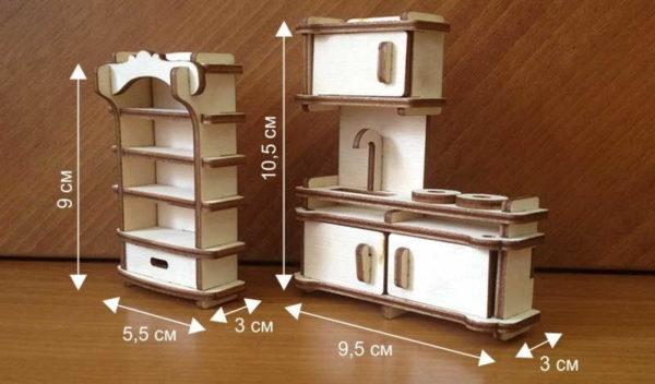 Сделать мебель для кукол своими руками можно любого размера, стиля