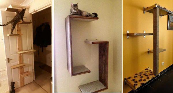 Prateleiras para gatos - O nome é claramente não aleatório ...