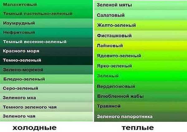 Оттенки Зелёного Фото