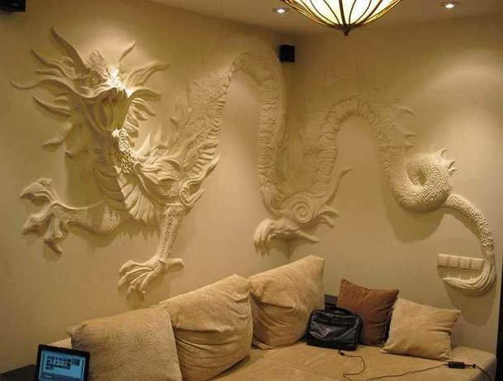 домашних декоративная лепка на стенах фото фото