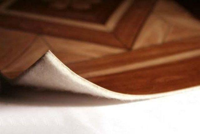 Нинолеум киізден жасалған негізде өте жақсы жылу оқшаулағыш
