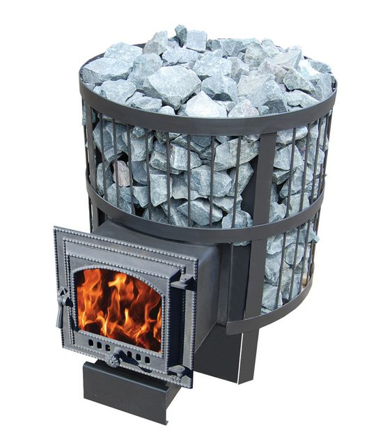 I fornaci metallici sono molto più facili da installare