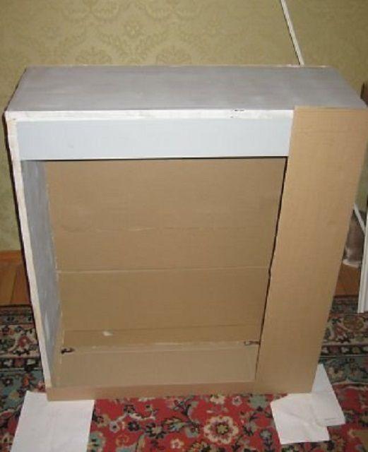 Den anden version af portalen er enklere, da dette er en almindelig hule kasse