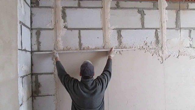 Meget tidskrævende, men meget vigtigt stadium - vægjustering