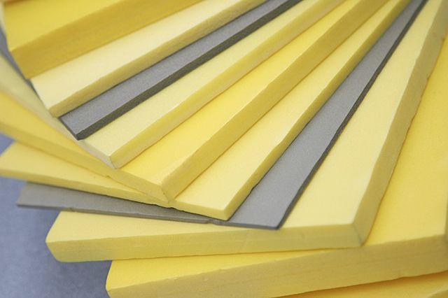 Extruderad polystyrenskum produceras i olika tjocklek