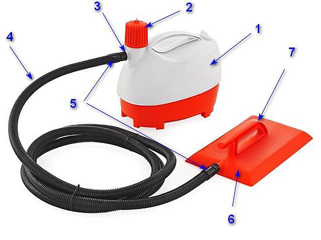 Удобный инструмент для снятия любых типов обоев – отпариватель «QUATTRO ELEMENTI Vapore W-2400»