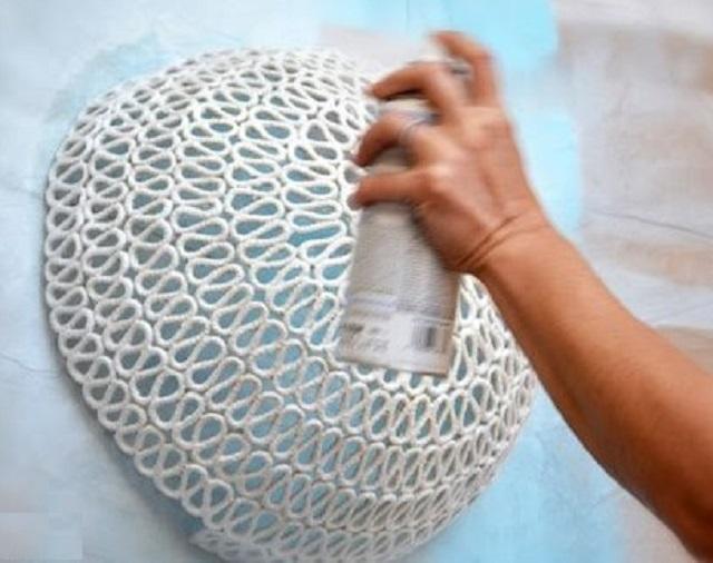 کاربرد در Lampshade aerosol رنگ.