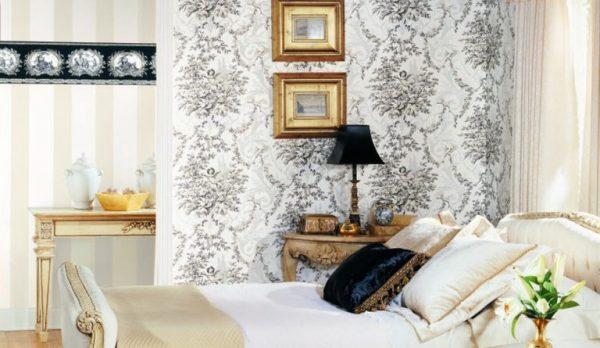 Papel de parede de papel com padrão