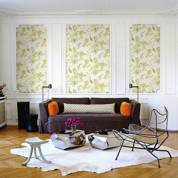 Papel de parede têxtil