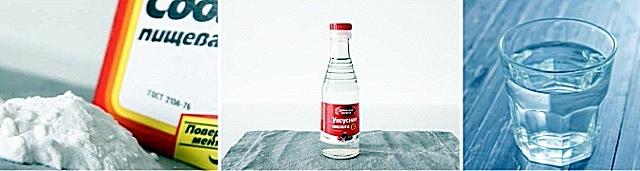 Soda, giấm và nước nóng thường hoàn toàn giải quyết vấn đề của ống thoát nước.