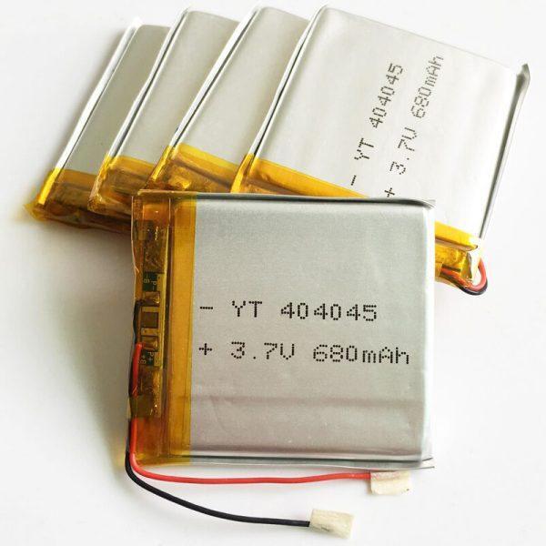 Lithium-polymeeraccumulators voor een schroevendraaier
