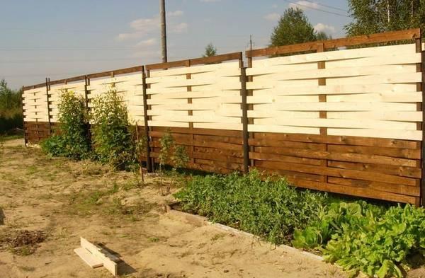 Плетеный забор из досок своими руками: фото, пошаговая ...